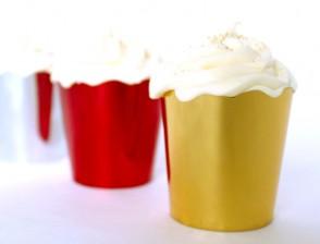 Metallic Petite Cups