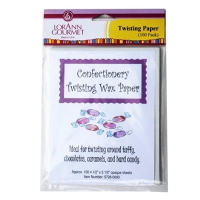 Twisting Wax Paper