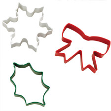 Holiday 3pc Cookie Cutter Set