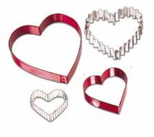 From the Heart Nesting Hearts Cookie Cutters