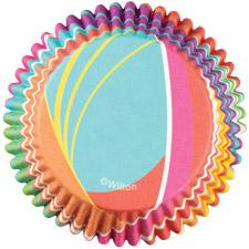 Rainbow Stripes Color Cups