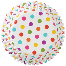 Rainbow Dots Color Cups