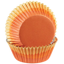 Orange Ombre Color Cups
