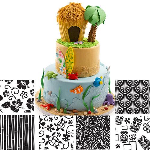 Hawaiin Texture Sheet Set