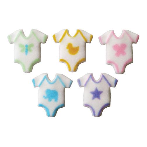 Baby Onepiece Sugar Decorations
