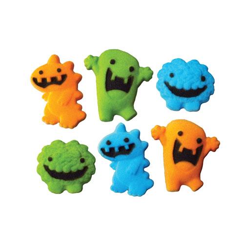 Monsters Asst. Sugar Decorations