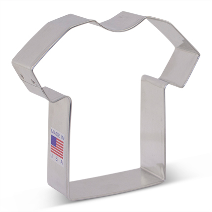 "3.5"" Shirt/Jersey  Cookie Cutter"