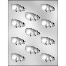 "2"" Pig Chocolate Mold"