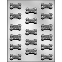 "1 3/4"" Doggie Treat Chocolate Mold"