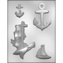 Nautical Asst Chocolate Mold