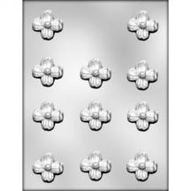 "1 3/8"" Dogwood Chocolate Mold"