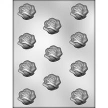 "1 1/2"" Open Rose Chocolate Mold"