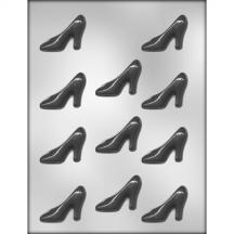 """2 1/4"""" High Heel Shoe Chocolate Mold"""