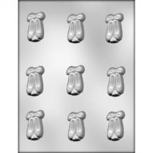 """1 3/4"""" Ballet Shoes Chocolate Molds"""