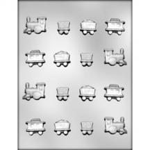 Train Assorted Chocolate Mold