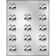 Bells & Bow Chocolate Mold