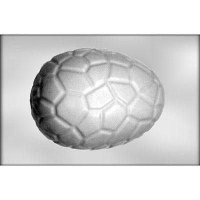 "Cracked Egg 7 1/2"" 3D Chocolate Mold"