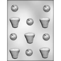 Basketball/Basket Chocolate Mold