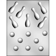 Bowling Ball/Pin Chocolate Mold