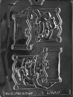 Bear In Bed Chocolate Mold