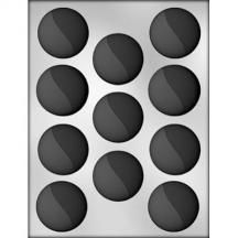 """1-5/8"""" Circle w/ 2 Levels Choc Mold"""