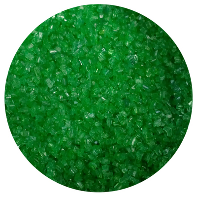 Emerald Sugar Crystals 4oz.
