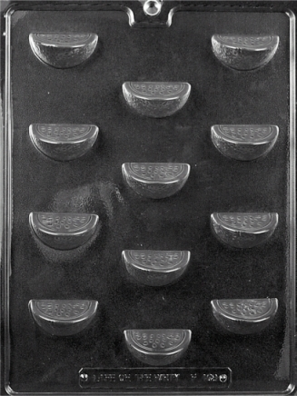 Bite Size Fruit Slices Chocolate Mold