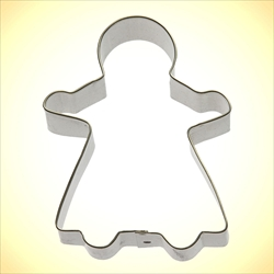 Gingerbread Girl Cookie Cutter - 4.5""