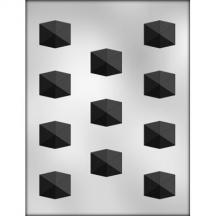 "1"" Jewel Cut Shape Choc Mold"