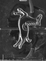 Large Carousel Horse Chocolate Mold