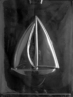 Large Sailboat Chocolate Mold