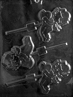 Cupid with Heart Lolly Chocolate Mold