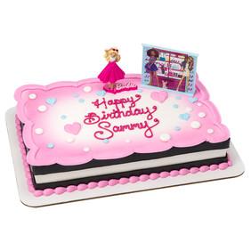 Barbie - I Love to sparkle cake topper