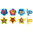 Bubble Guppies Gil, Molly and Gang Cupcake Rings