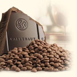 Callebaut Bittersweet Block Chocolate - 11 lb block