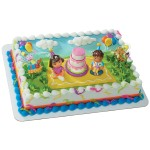 Dora Birthday Celebration Cake Topper Kit