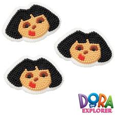 Dora the Explorer Icing Decorations