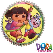 Dora the Explorer Baking Cups
