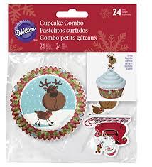 Reindeer cupcake combo pack