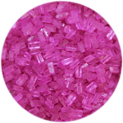 Fuchsia Sugar Crystals 4oz.