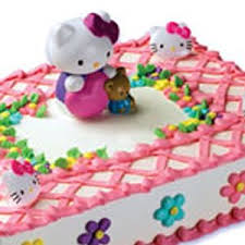 Hello Kitty Bubble Blower Cake Topper Kit