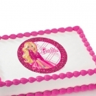 Barbie Edible Image