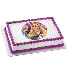 Rapunzel Edible Image