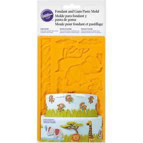 Jungle Animals Fondant and Gum Paste Mold