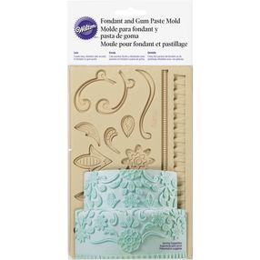 Lace Fondant and Gum Paste Mold