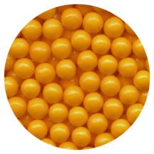 Orange Candy Beads 3.5oz.