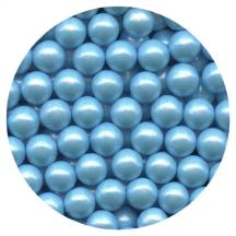 Pearl Blue Candy Beads 3.5oz.