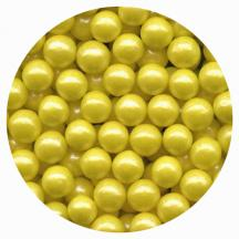 Pearl Yellow Candy Beads 3.5oz.