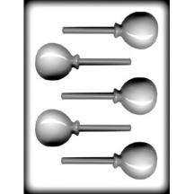 "2 1/4"" Balloon Sucker Hard Candy Mold"