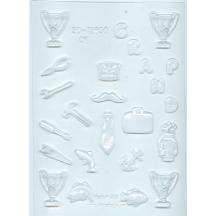Father assorted chocolate mold